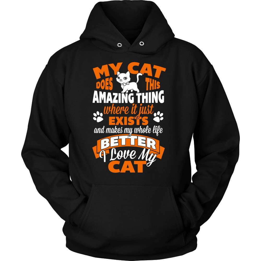 Cat T-Shirt Design - Amazing Cat - snazzyshirtz.com