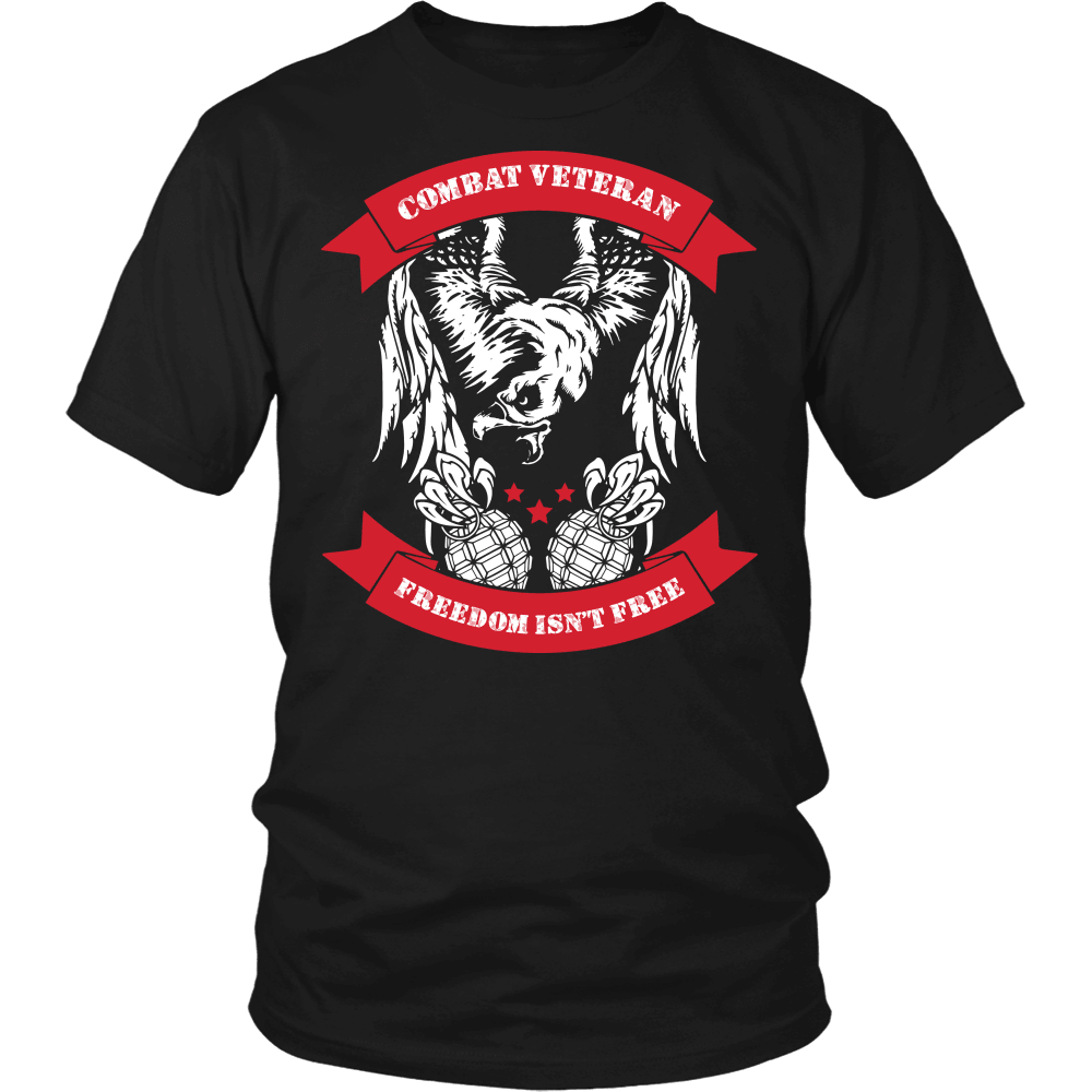 Veteran T-Shirt Design - Combat Vet