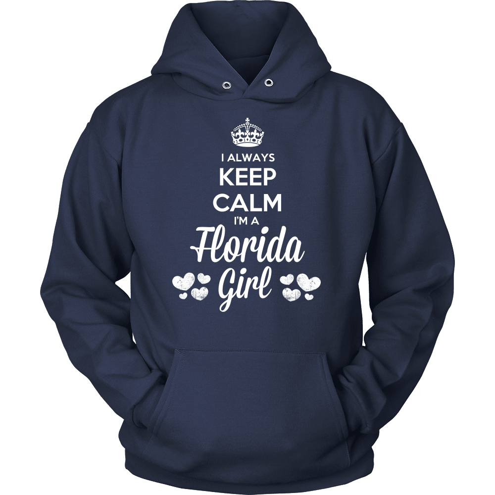 Florida T-Shirt Design - Keep Calm I'm A Florida Girl