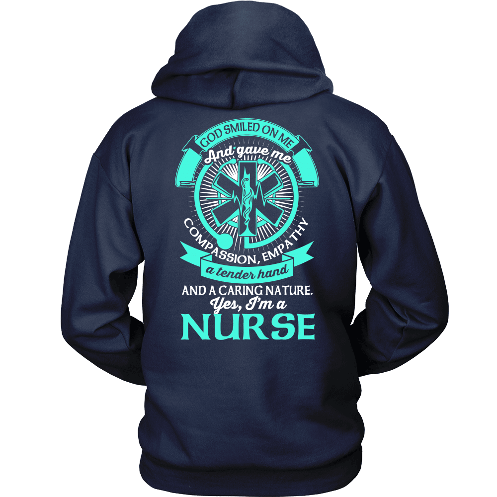 Nurse T-Shirt Design - Yes, I'm A Nurse!