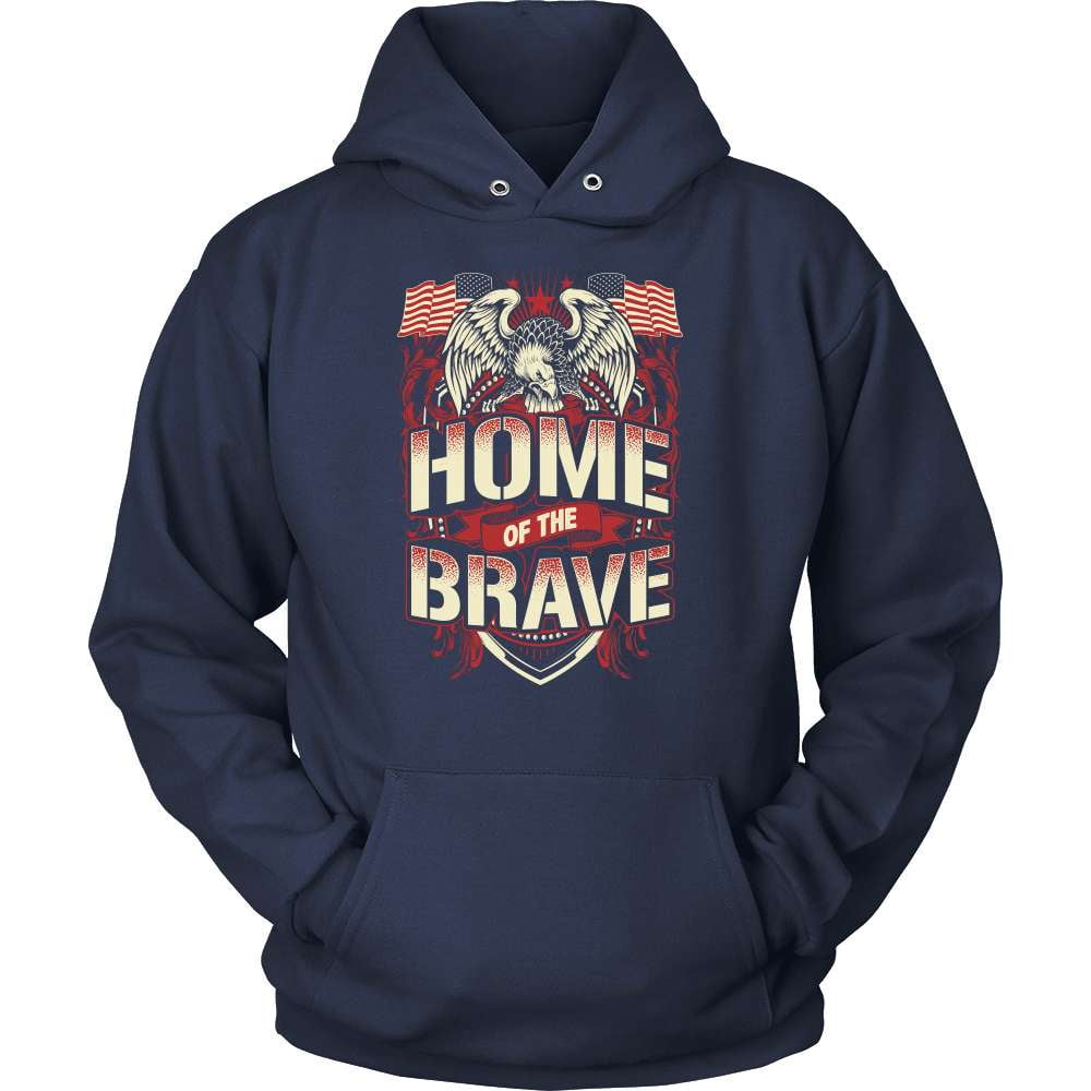 Veteran T-Shirt Design - Home Of The Brave