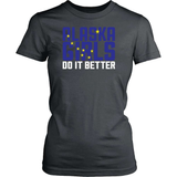 Alaska T-Shirt Design - Alaska Girls Do It Better