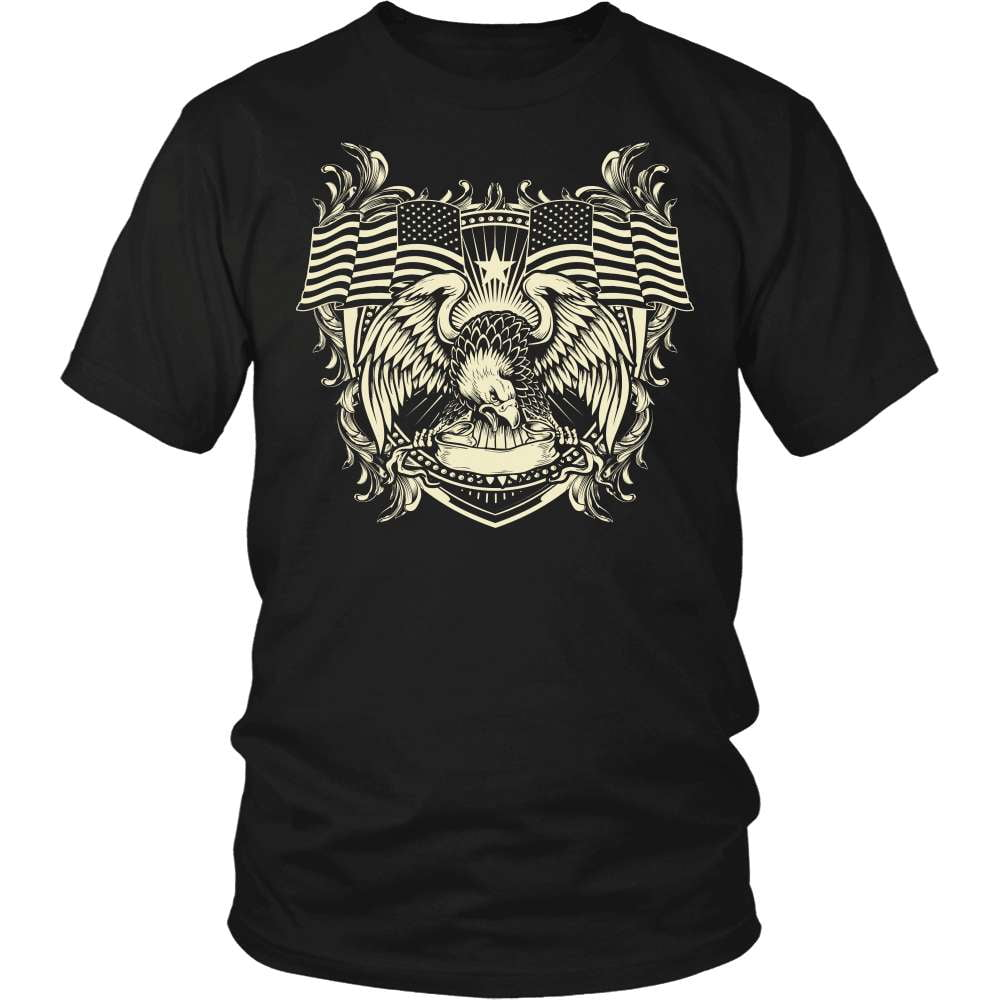 Veteran T-Shirt Design - The Brave's Homeland
