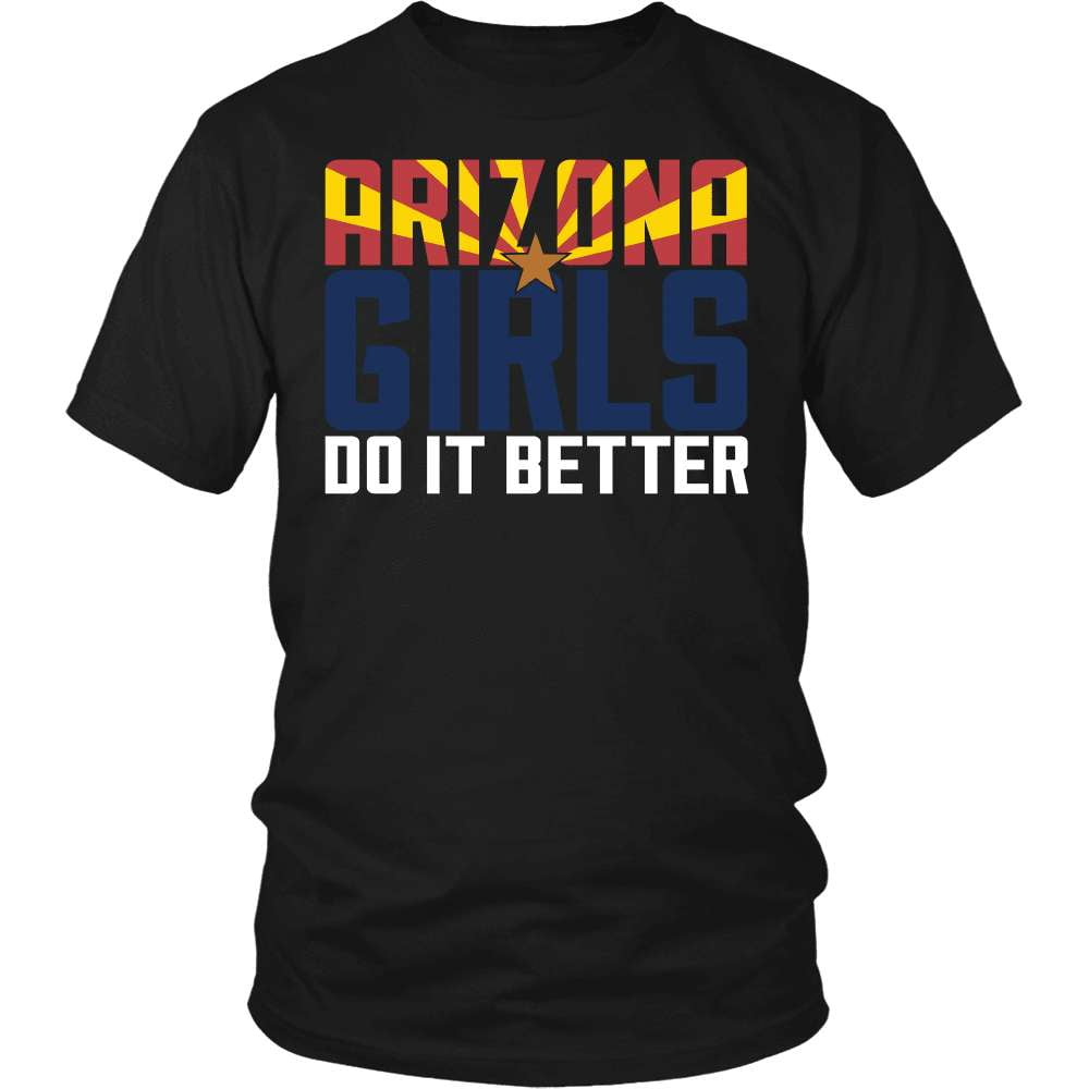 Arizona T-Shirt Design - Arizona Girls Do It Better - snazzyshirtz.com