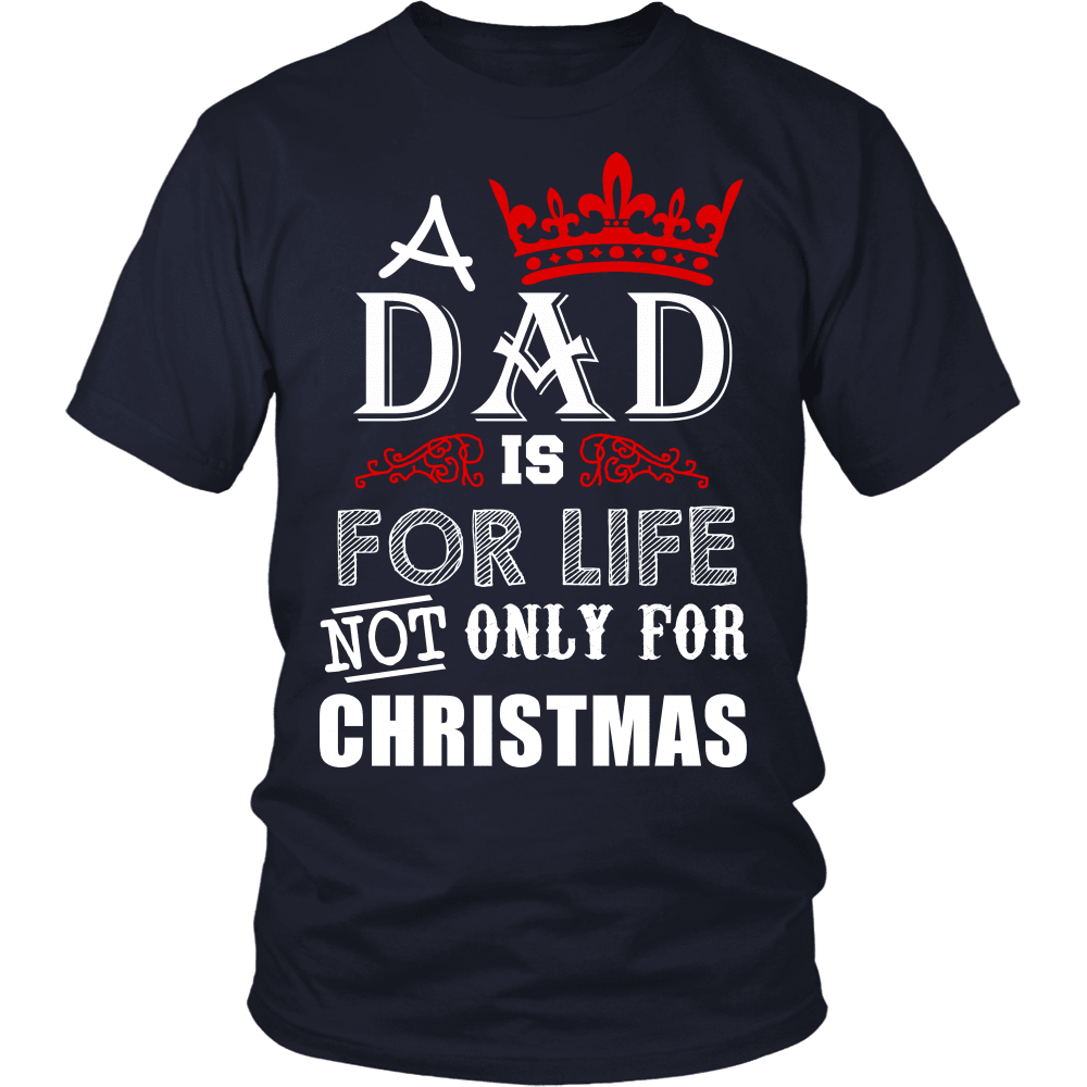 Christmas T-Shirt Design - Not Just For Christmas