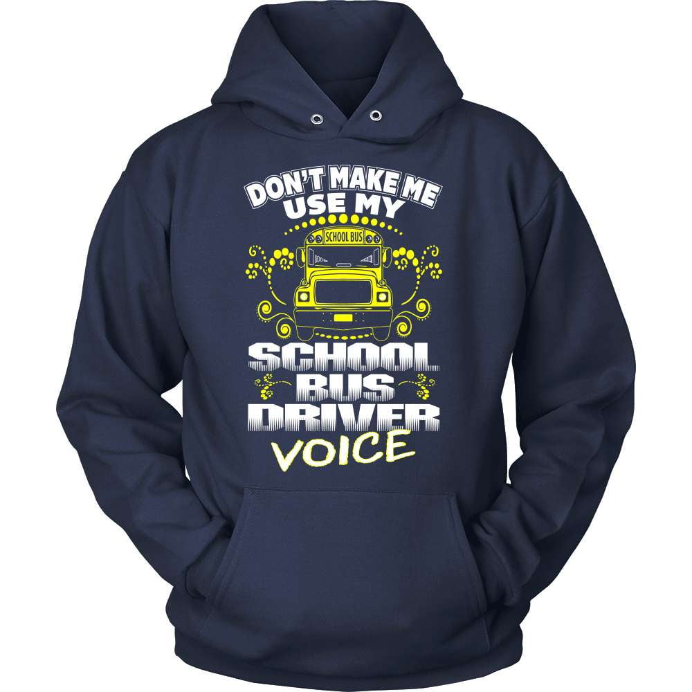 School Bus Driver T-Shirt Design - School Bus Driver Voice