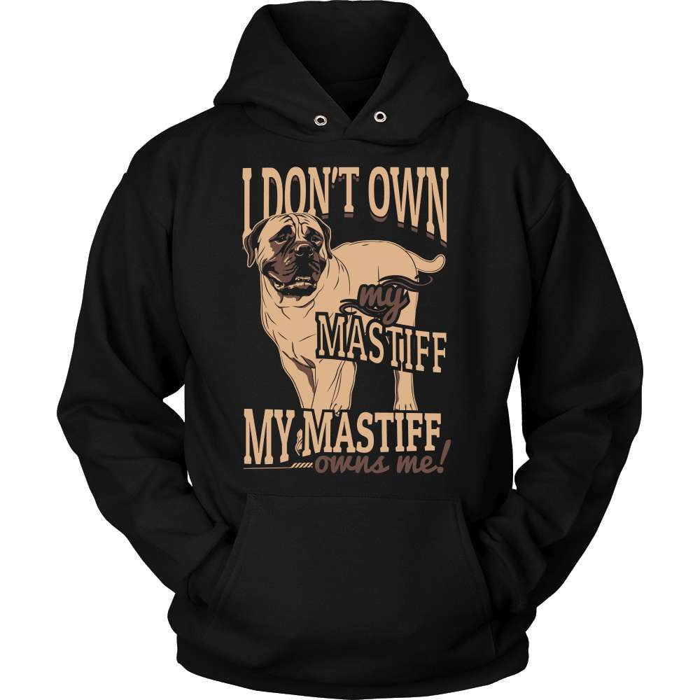Mastiff T-Shirt Design - My Mastiff Owns Me