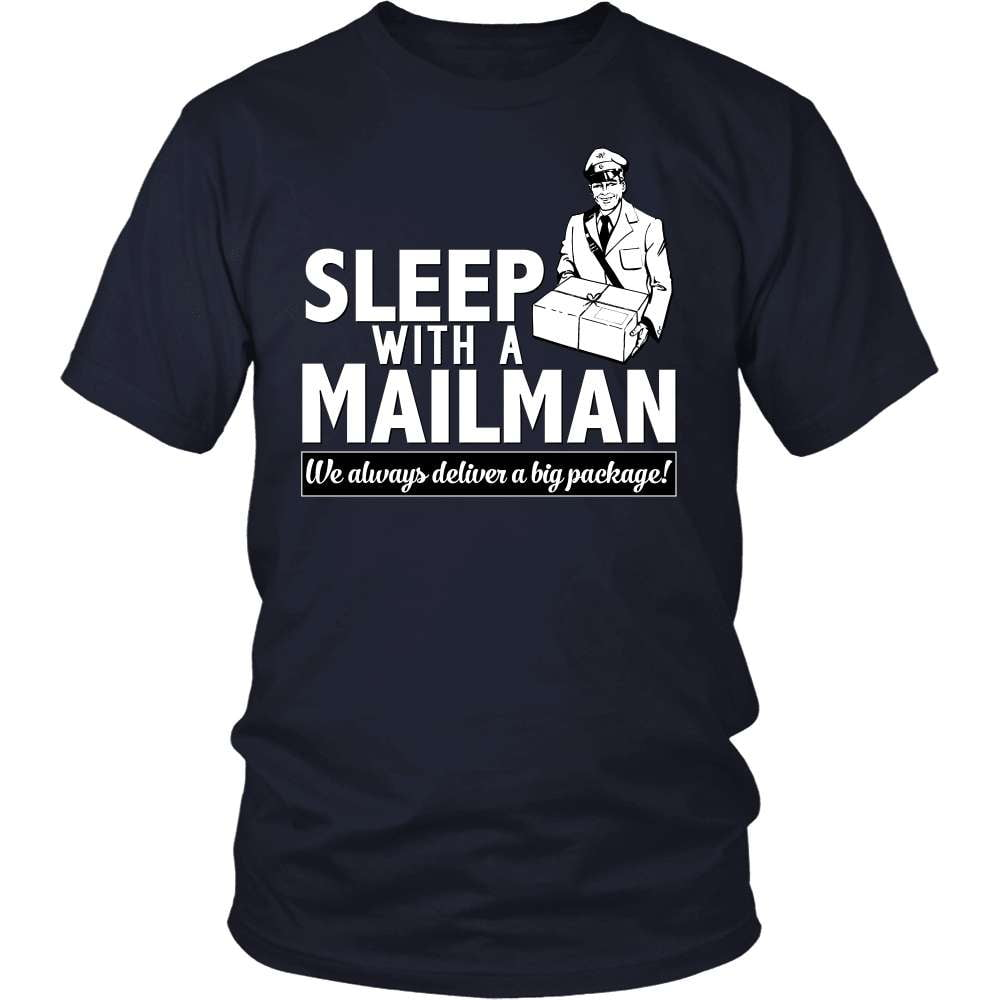 Mail Carrier T-Shirt Design - Sleep With A Mailman