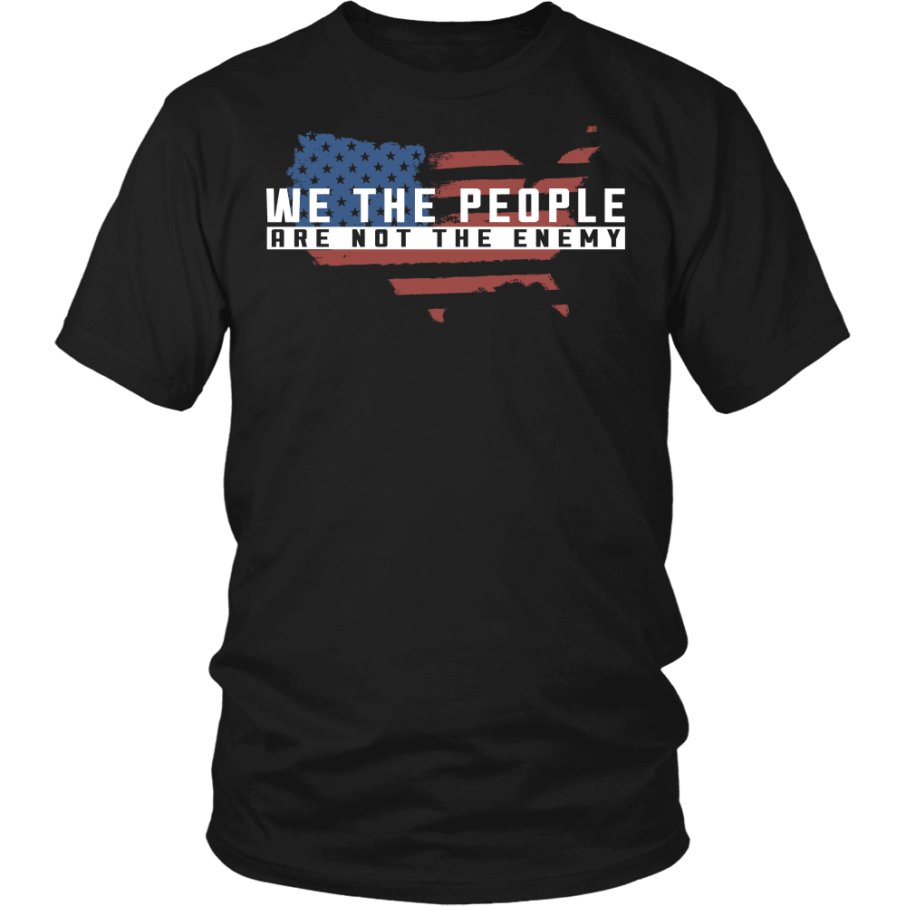 Truth Seeker T-Shirt Design - We The People Are Not The Enemy