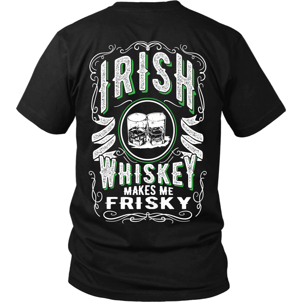 Irish T-Shirt Design - Friskey Whiskey