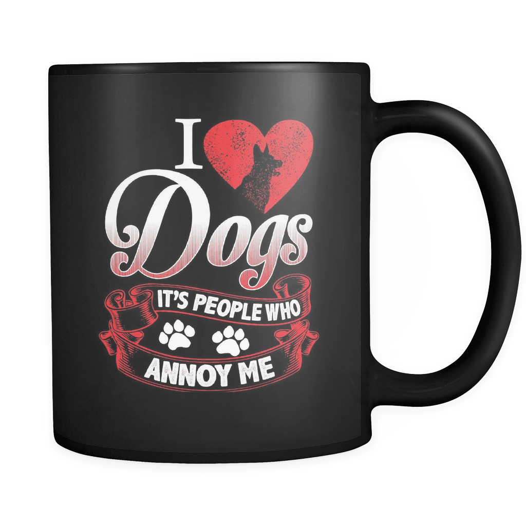 People Annoy Me - Luxury Dog Mug
