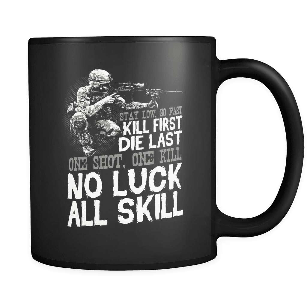 No Luck All Skill - Luxury Veteran Mug