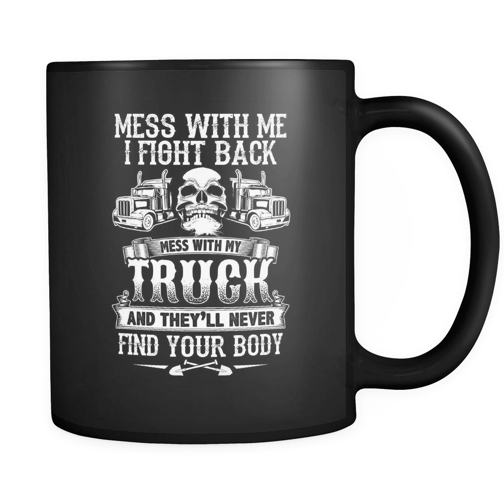 Keep Off My Truck - Luxury Trucker Mug