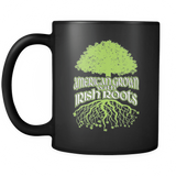 American Grown With Irish Roots - Luxury Mug
