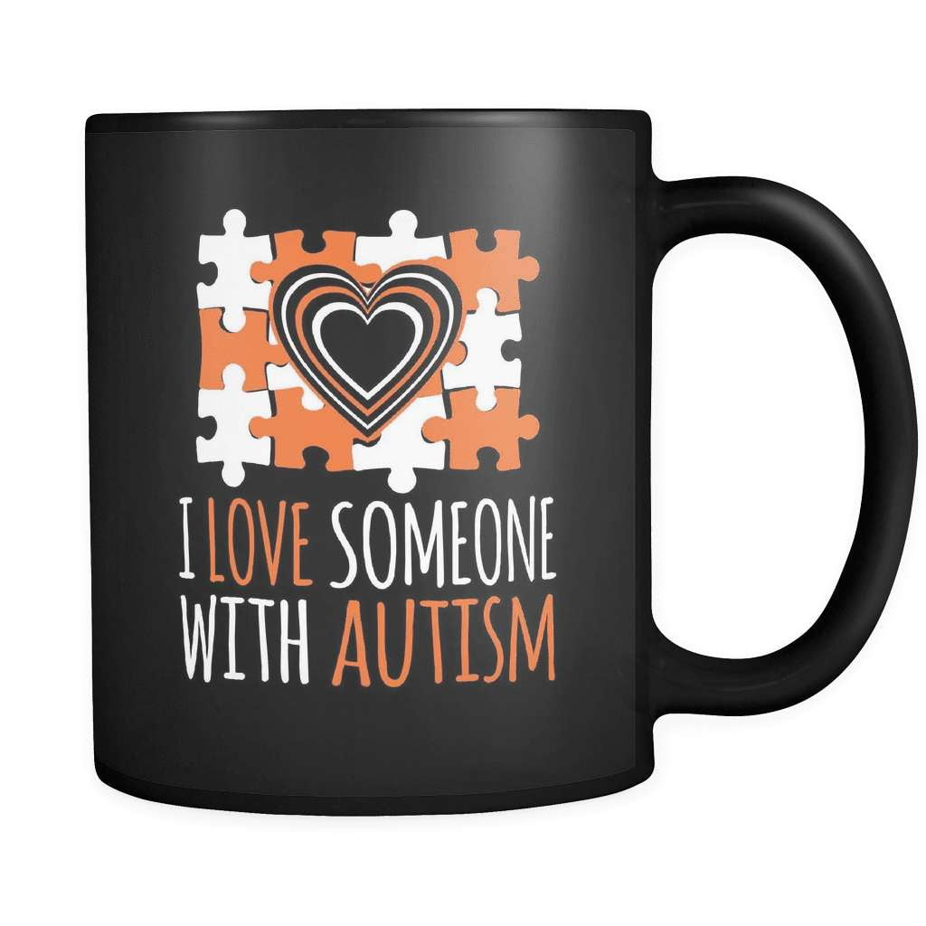 I Love Someone With Autism - Luxury Mug