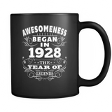 Birthday Mug - Born 1928 Awesomeness