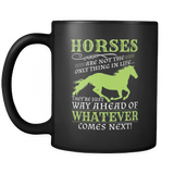 Horses Are Way Ahead - Luxury Mug