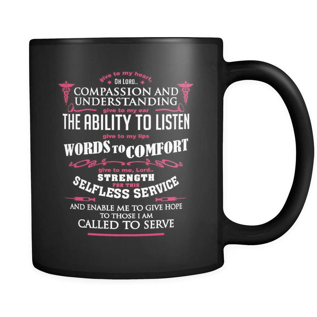 The Nurse's Prayer - Luxury Mug - snazzyshirtz.com