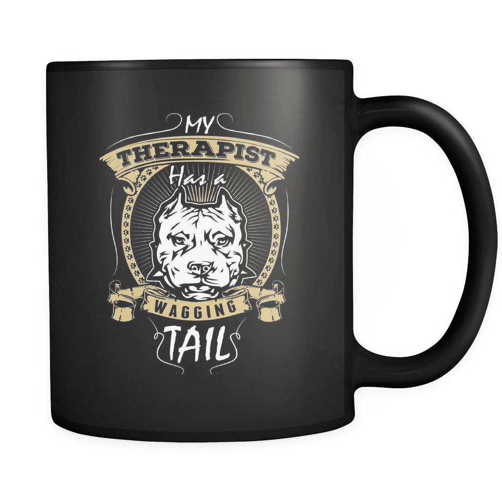 My Therapist - Luxury Pit Bull Mug