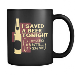 I Saved A Beer! - Luxury Mug