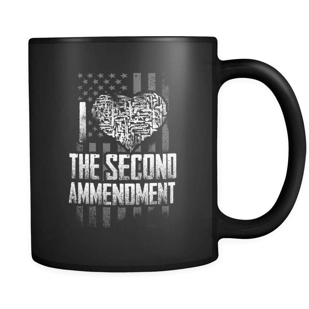 I Love The Second - Luxury Gun Mug