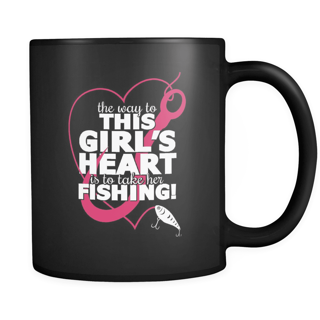 This Girls Heart - Luxury Fishing Mug