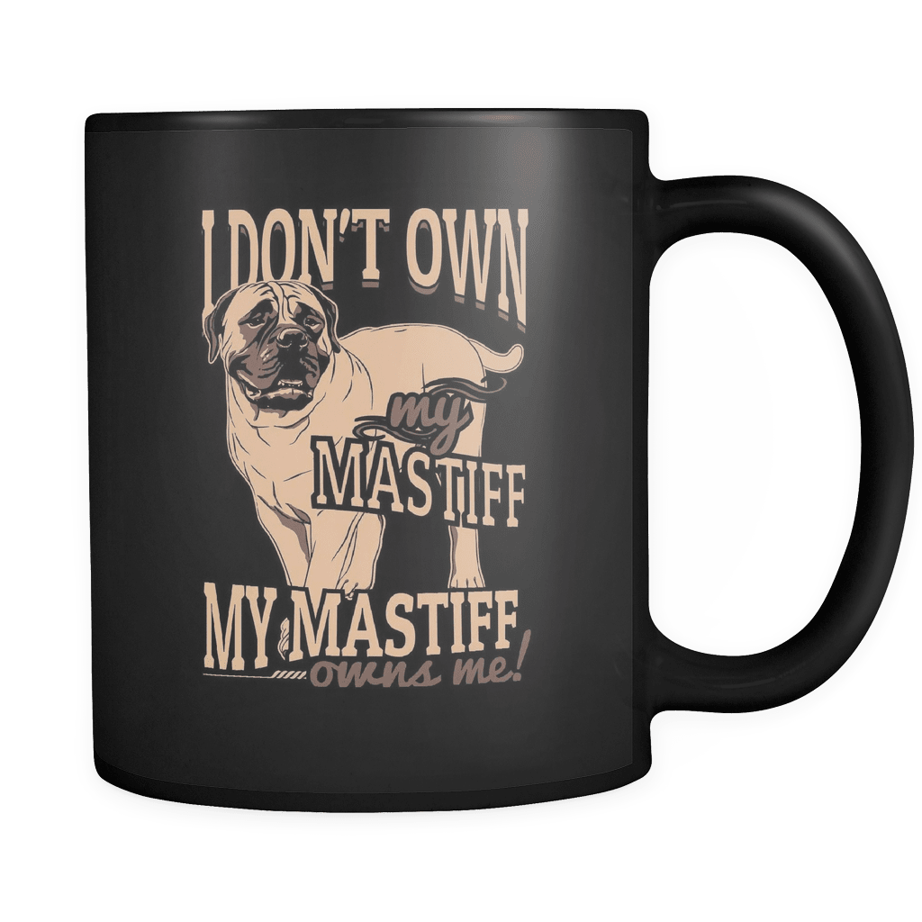 My Mastiff Owns Me - Luxury Mug