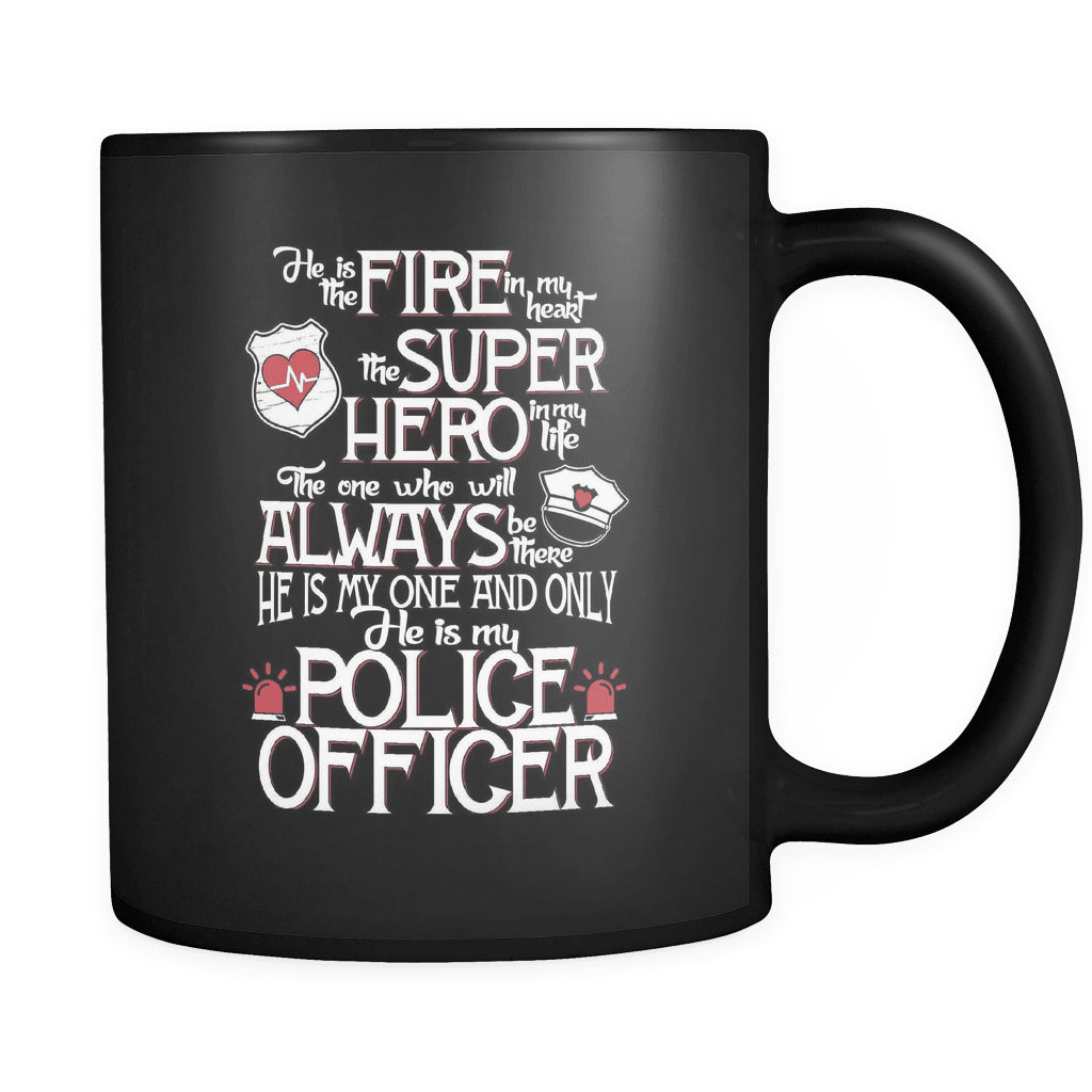 He Is My Police Officer - Law Enforcement Luxury Mug