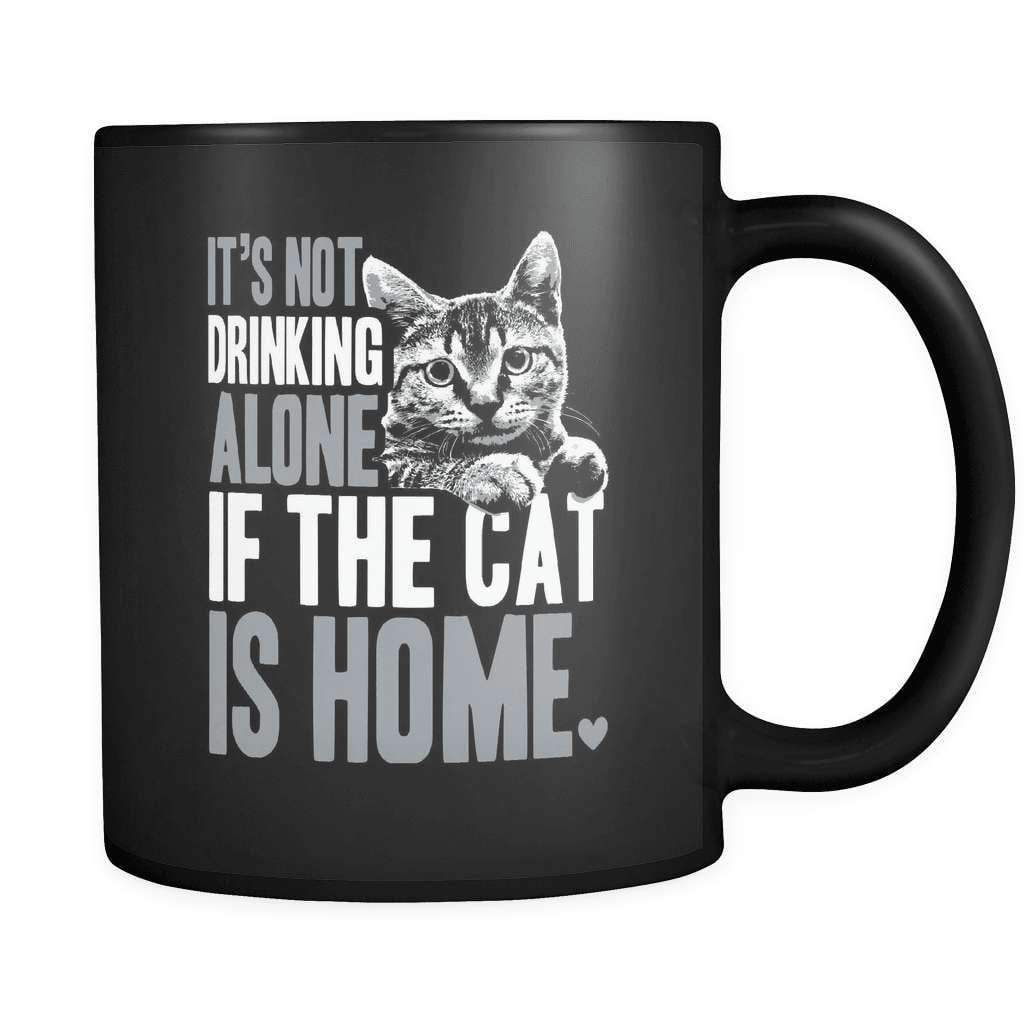 If The Cat Is Home - Luxury Mug