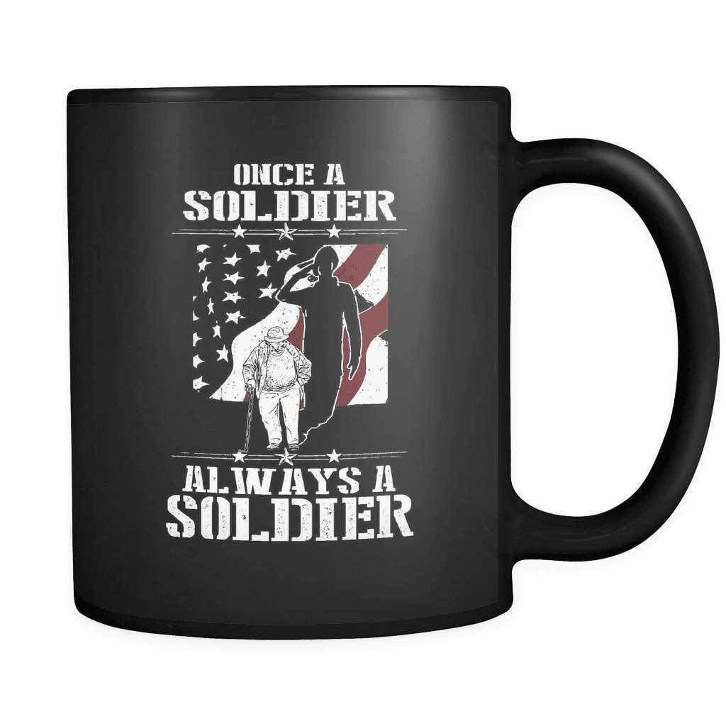 Once A Soldier - Luxury Veteran Mug