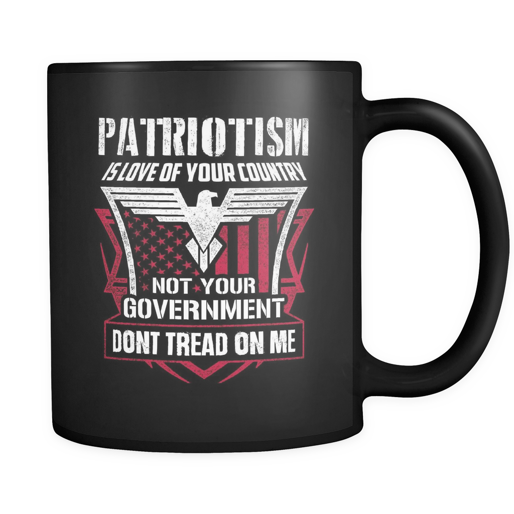 Patriotism -  Luxury Gun Mug