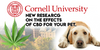 Cornell Takes The Lead In Cannabidiol Research For Our Pets