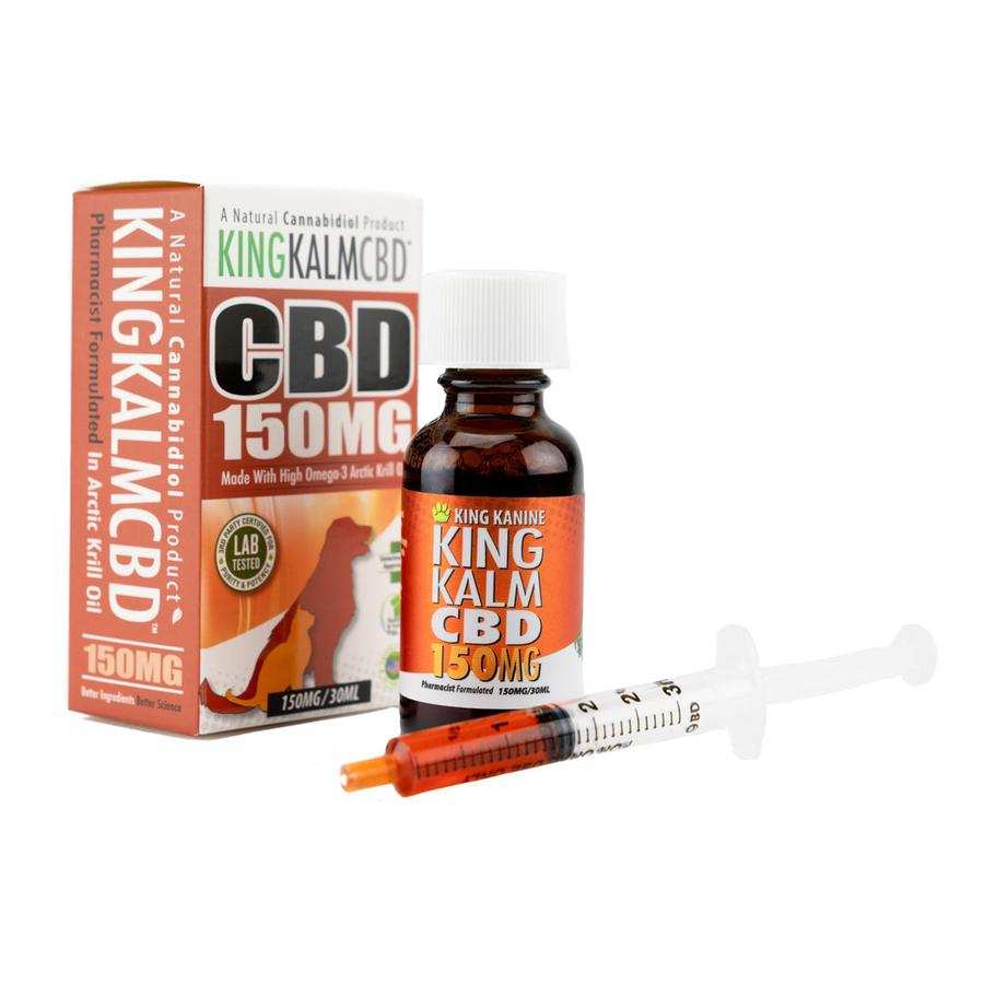 CBD Oil for Dogs | King Kalm CBD 150mg - Best CBD For Dogs Anxiety