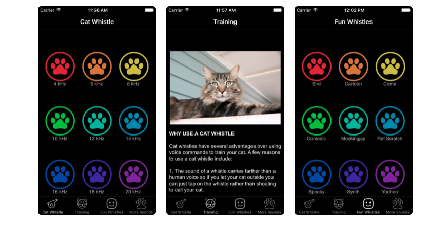 Cat Whistle & Training Pet App