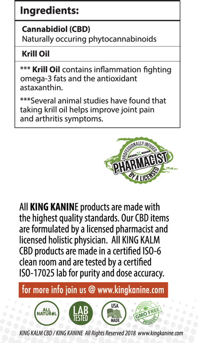 KING KALM™ CBD 150mg for Welsh Terriers