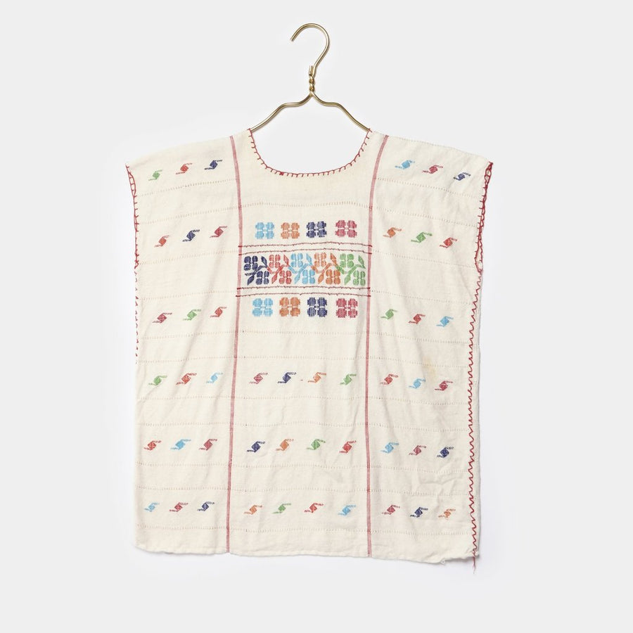 Hand Embroidered Mexican Top