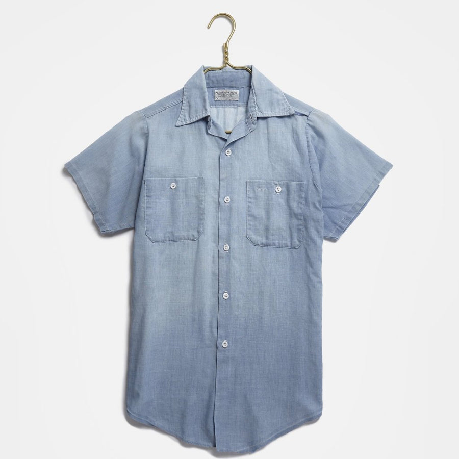 Blue Chambray Button Up