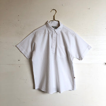 Yellow Rat White Pull Over Shirt