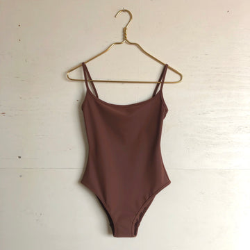 Nu Swim Noodle One Piece Suit - Cocoa