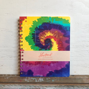 Iron Curtain Press Tie Dye Notebook