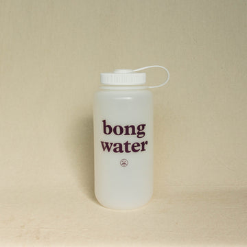 Mister Green Bong Water Nalgene Bottle