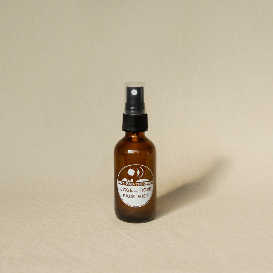 Fat and The Moon Sage and Rose Face Mist