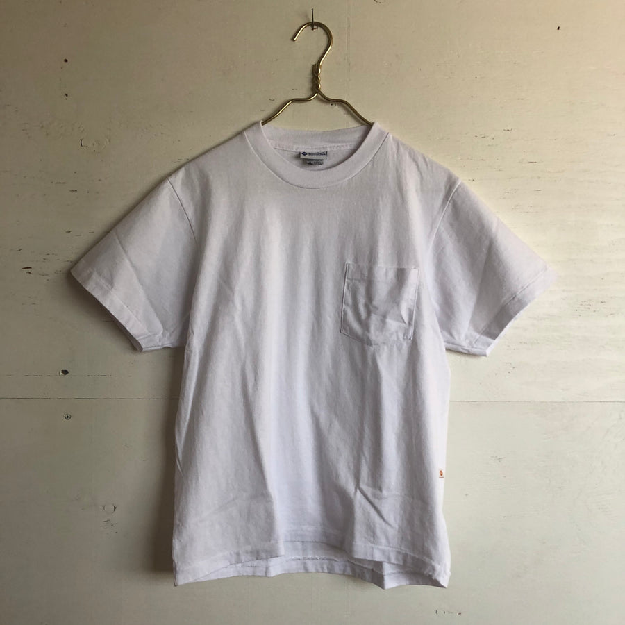 Yellow Rat Blank Pocket Tee (White)