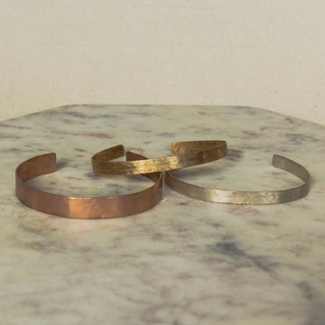 Bagtazo Mixed Metals Cuff Set