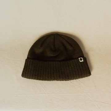 Ola Canvas Shore Cap Beanie - Olive