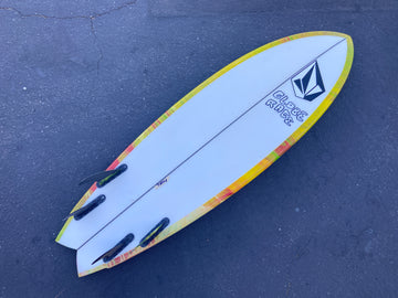 Electric Acid Surfboard Test 5'9