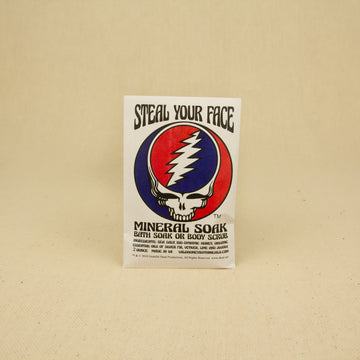 Wild Yonder Botanicals Grateful Dead Mineral Soak - Steal Your Face