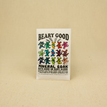 Wild Yonder Botanicals Grateful Dead Mineral Soak - Beary Good