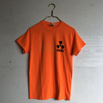 Deepest Reaches S.O.N.G.S Tee Radioactive Orange