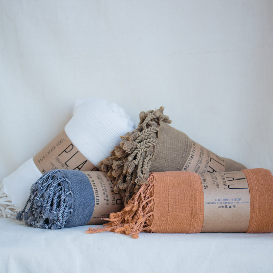 Handloomed Textured Turkish Towel